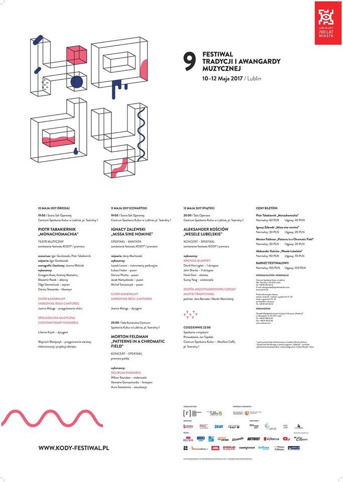 KODY 2017 program