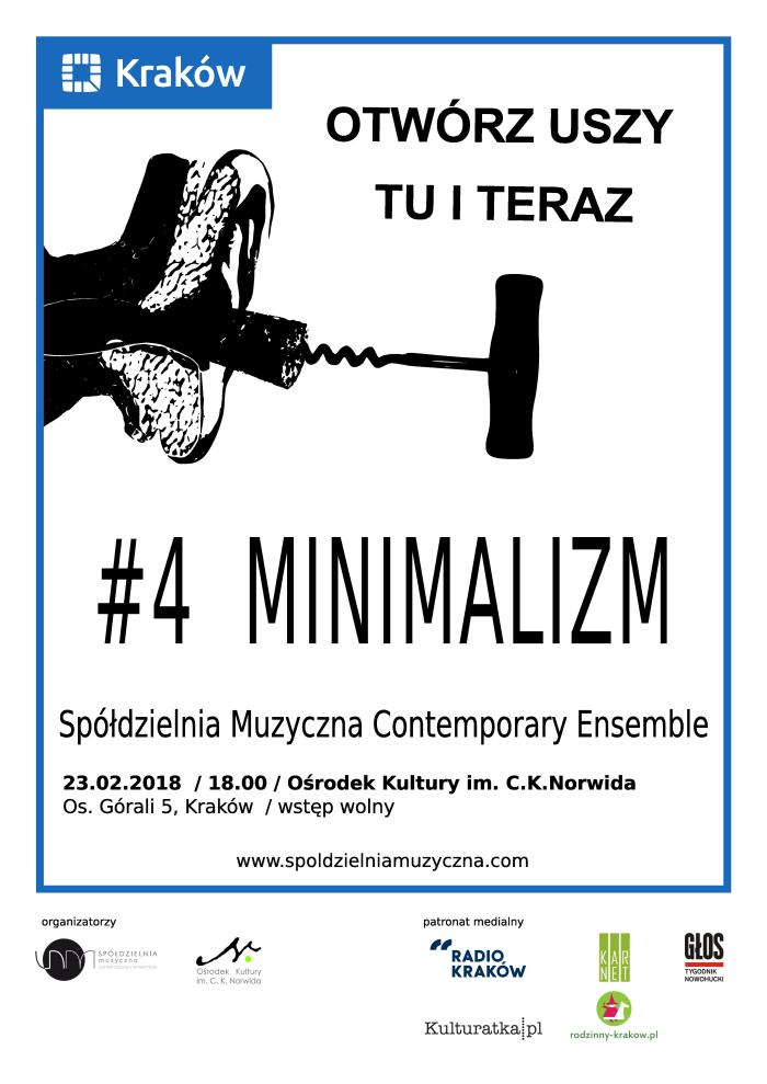 Otwórz Uszy Tu i teraz #4 minimalizm