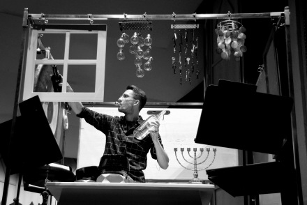 EN FACE rehearsal, photo by Staatstheater Cottbus